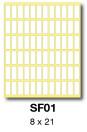 SF01 etikety