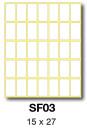 SF03 etikety