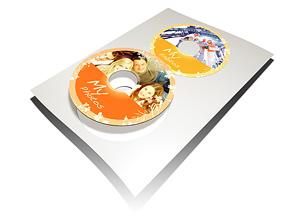 CD / DVD Etiketten
