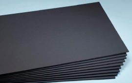 Black self-adhesive RAYBOARDS