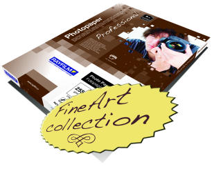 Professional FineArt collection photo paper